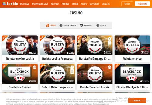 Luckia Casino revision