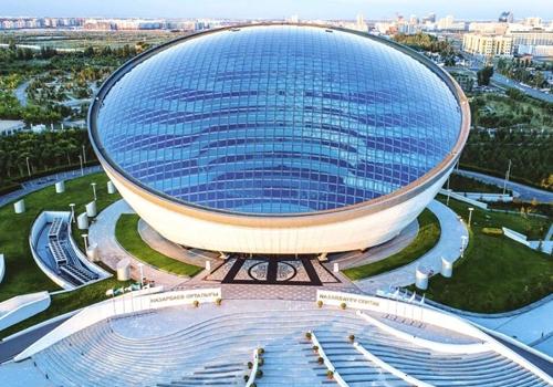 национална библиотека Астана Казакстан