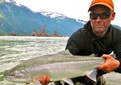 Dean River steelhead fishing