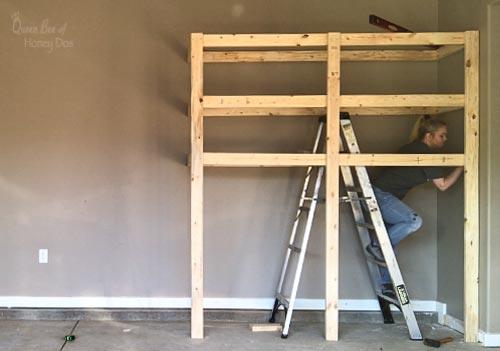 build garage shelves step 6