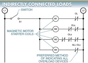 indirectly connected loads diagram