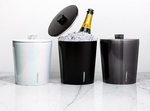 Under $100 white elephant gift ideas. Corkcicle Insulated Ice Bucket