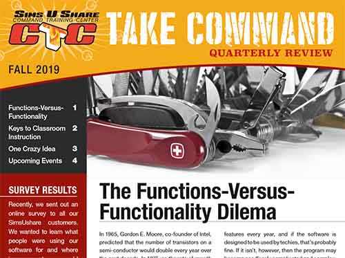 SimsUshare Fire Simulator Take Command Fall 2019 Newsletter