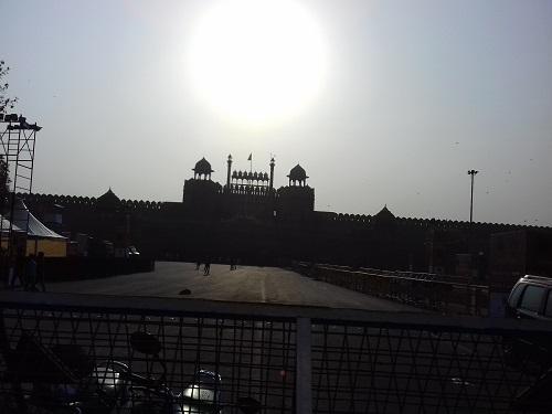 A Day in New Delhi