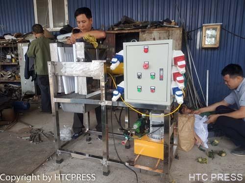 Máy ép rau củ quả bằng thủy lực 15 tấn HP-15H