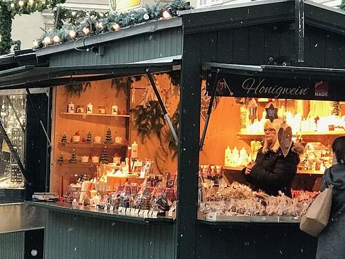 Xマス市場の画像