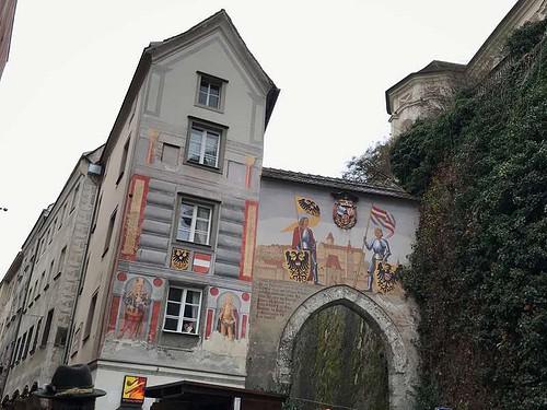 シュタイヤーの街の画像