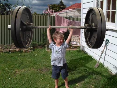 Strong Kid