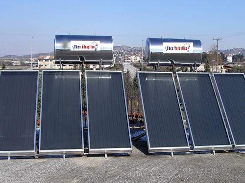 Εγκατάσταση ηλιακού θερμοσίφωνα, σύστημα από ηλιακούς θερμοσίφωνες