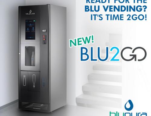Blu2Go: мир воды и вендинга соединились в новом торговом автомате
