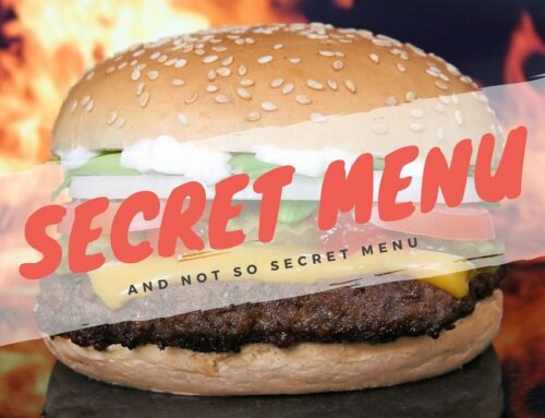Secret Menu….shhhh non lo dire a nessuno