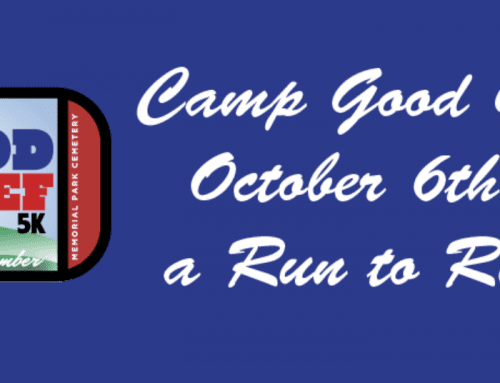 Getting Ready For This Year's Camp Good Grief Race!