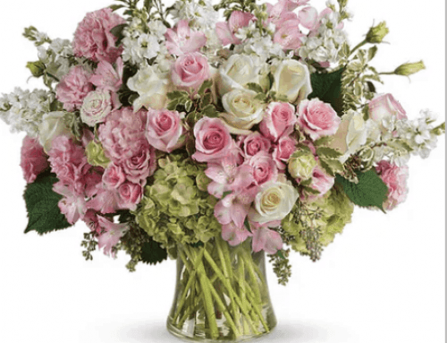 Honor Breast Cancer Awareness Month with Pink Flowers