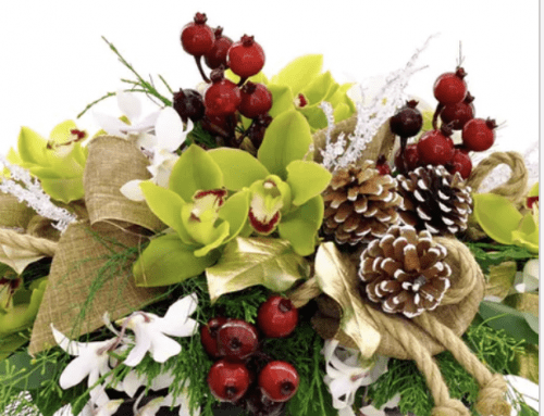 Make a Statement with Flowers During Christmas and New Year's!