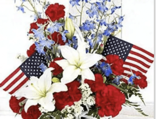 Decorate for Memorial Day with Plants, Blooming Plants, and Patriotic Decor
