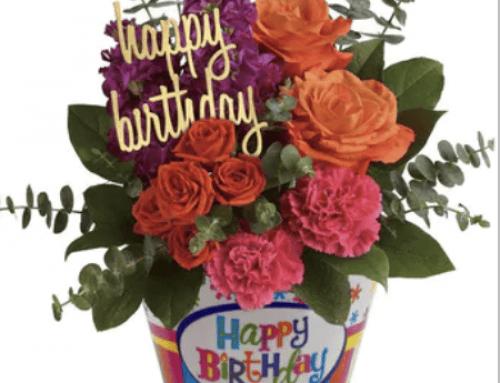 June Birthday Celebrations Start with Pugh's Flowers!