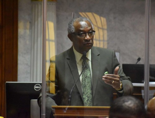 Randolph comments on rejection of amendments to budget bill