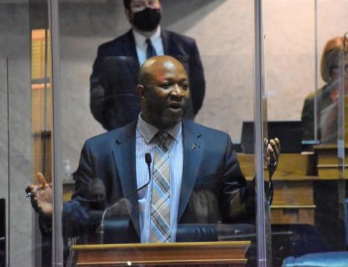 Senate Democratic Leader Taylor votes against state budget