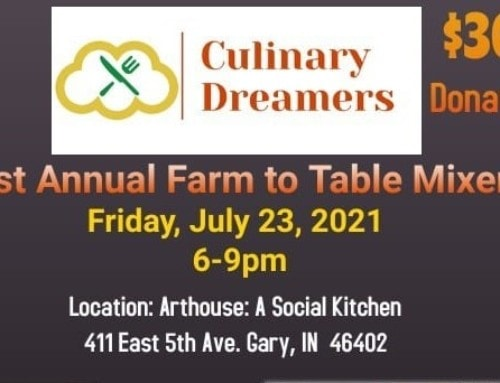 Melton to Join Culinary Dreamers in First Annual Farm to Table Mixer in Gary