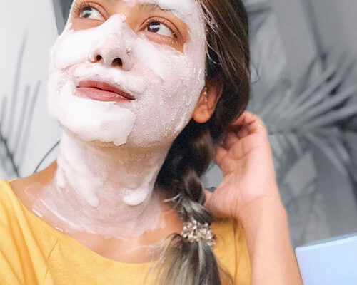 Althea Milk Peel face mask review | GreenStory