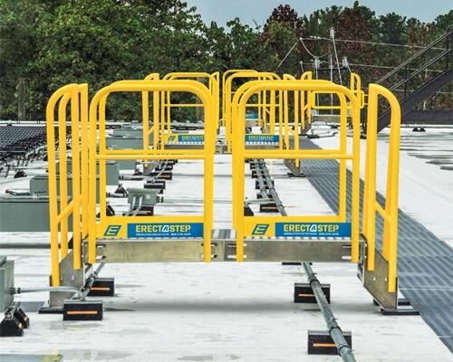 Solar Panel Rooftop Aluminum Work Platform for Maintenance