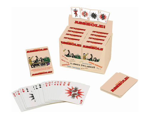 The Deluxe Asshole Drinking Card Game