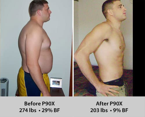 P90X Nick Baker Results