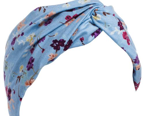 hair accessories etsy Pastel Floral Turban Headband