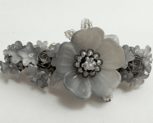 hair accessory French Grey Barrette