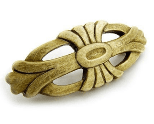 hair accessory Hand carved wooden barrette