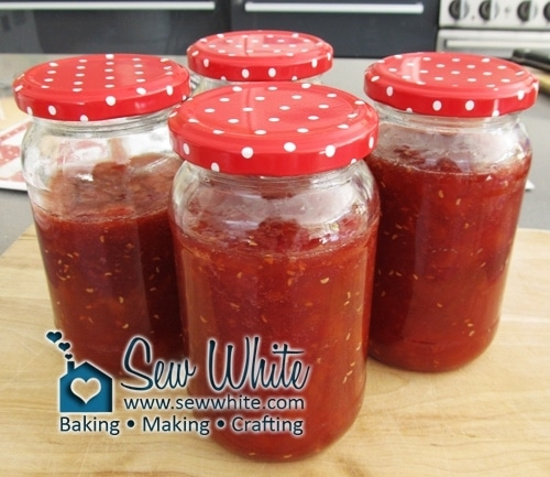 With so much fruit available in the summer making my Peach and Raspberry Jam is the greatest way to savouring it for future months.