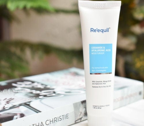 Re'equil ceramide hyaluronic acid moisturizer review