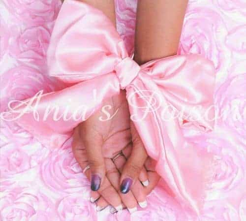 Satin Sissy Panties Thongs Ruffled crochless open but