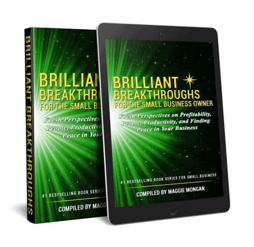Small Business Coaching by Brilliant Breakthroughs, Inc. Topic: App illustrate by Vol 2 of book series as book and app on tablet.