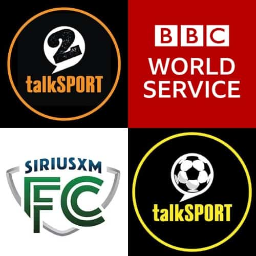 How to listen to soccer games via radio