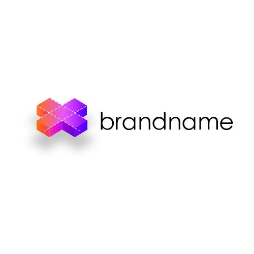 logotyp w stylu 3d