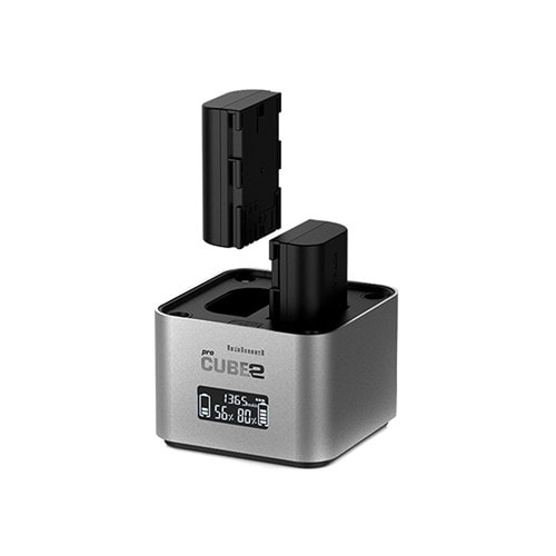 hahnel Professional Charger PROCUBE2 for Select Canon Batteries.