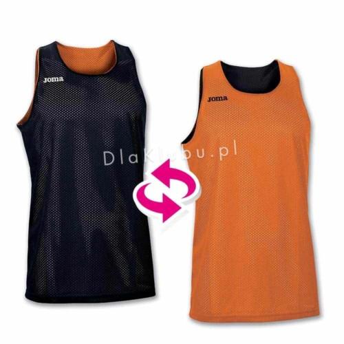 Koszulki koszykarskie JOMA Aro pomarańczowa i czarna