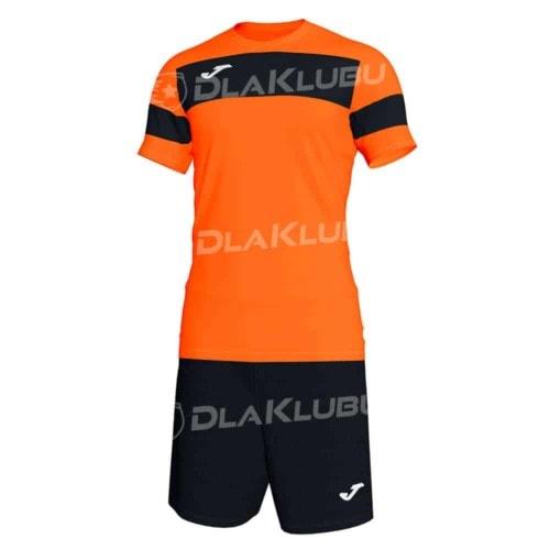 Komplet piłkarski JOMA Academy II pomarańczowo czarny