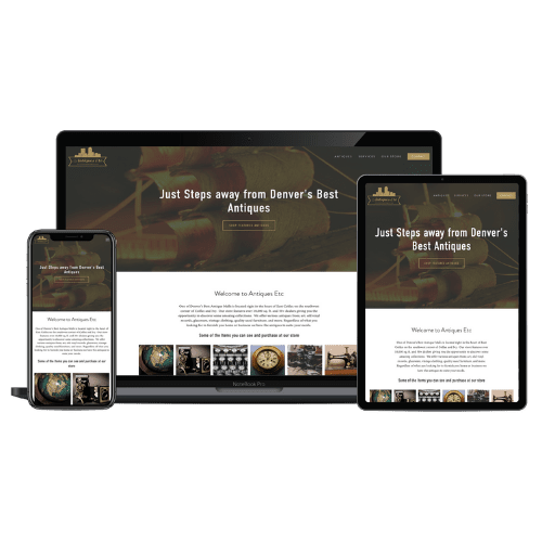 Website Development - Denver Antiques - Stream