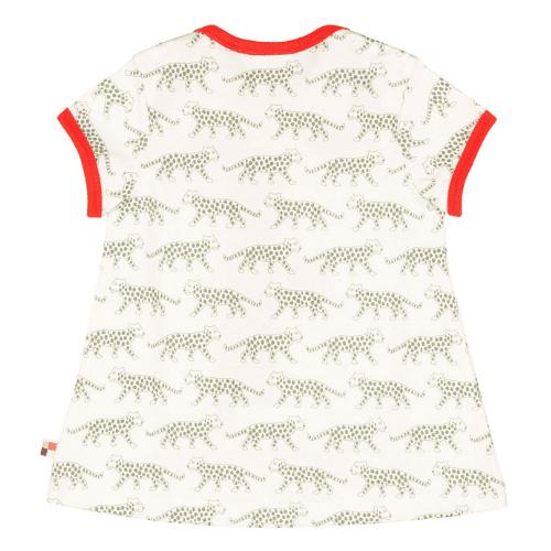 loud + proud Jerseykleid Gepard olive RA bei Kleidermarie.de