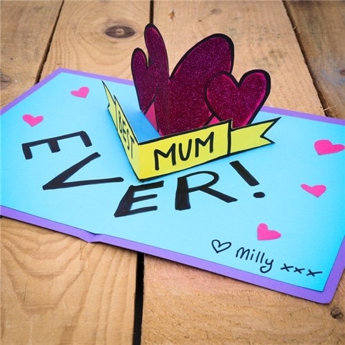 CleverPatch Mothers Day Card