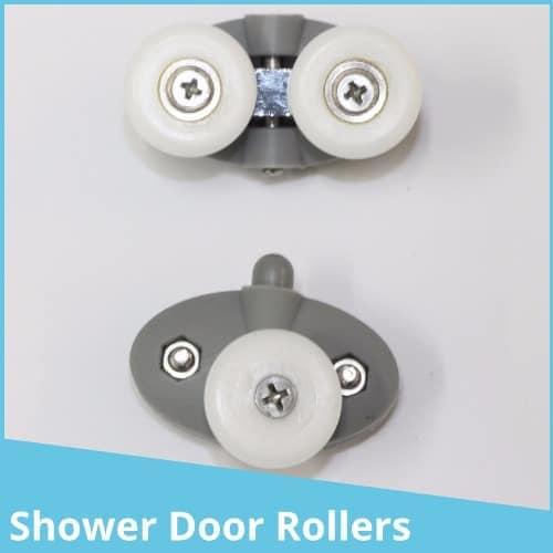Shower door Wheels, Guides or rollers