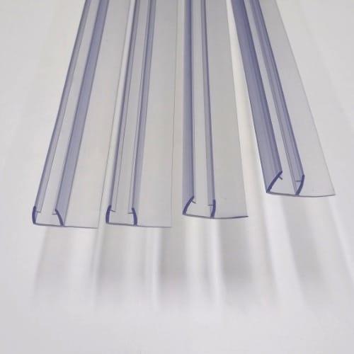 Vertical seals 8mm glass 2000mm long shower door parts