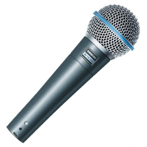 vocal microphone hire