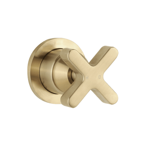 Infiniti Cross Progressive Mixer - Brushed Brass