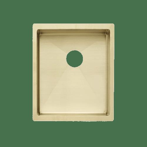 Ohelu Single Kitchen Sink 380mm - Brass