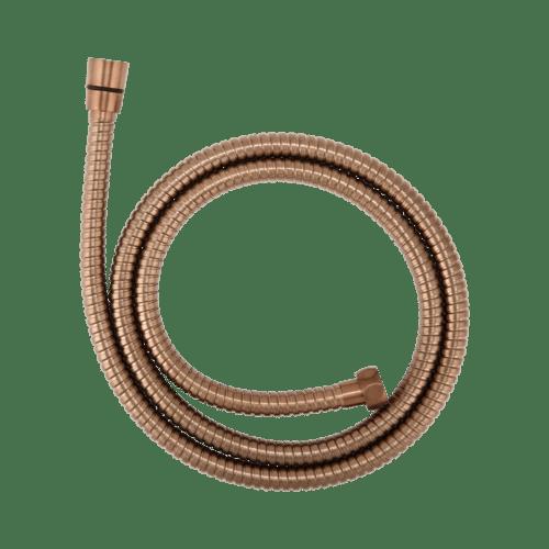 Aliah Shower Hose - Brushed Copper