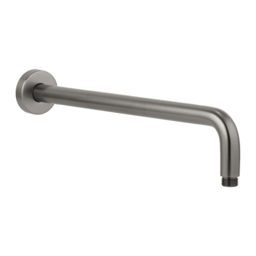 Phili Shower Arm 400mm - Gun Metal