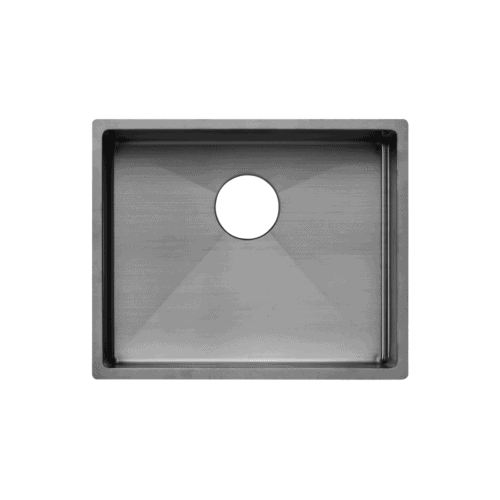 Seba Single Kitchen Sink 550mm - Gunmetal